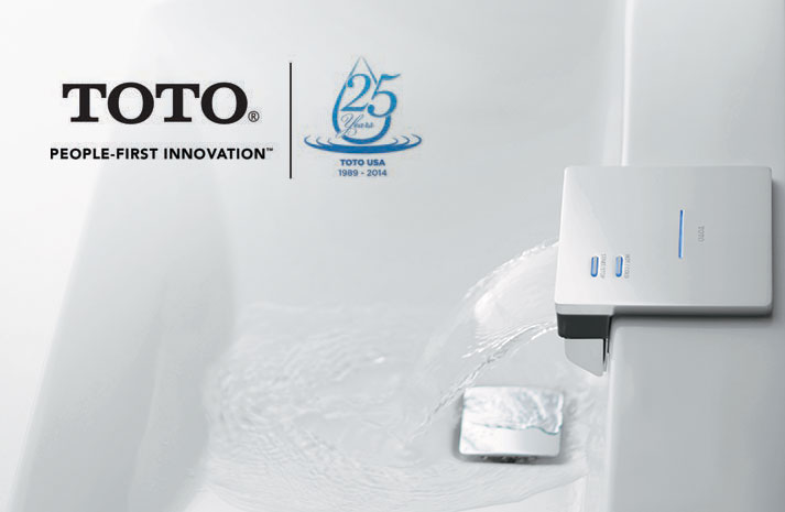 TOTO Celebrates 25 Years in North America - TotoUSA.com