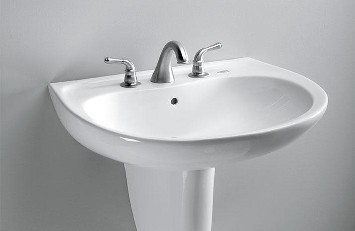 plus d 39 avantages dans un petit format le lavabo mural prominence. Black Bedroom Furniture Sets. Home Design Ideas