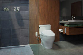 Aimes Toilet with S500e WASHLET