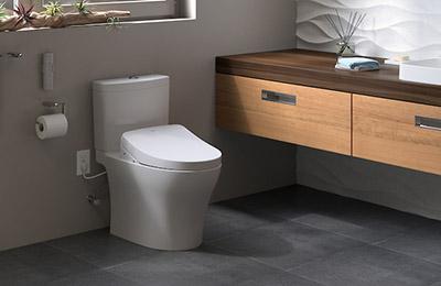 Aquia IV Toilet with Washlet S550E