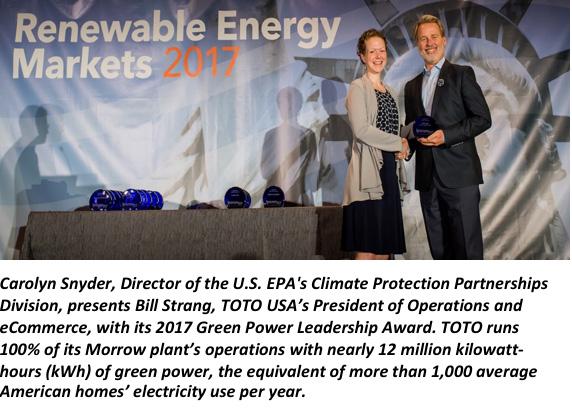 Green Power Award - Bill Strang