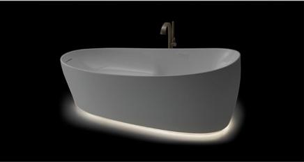 Flotation Tub bottom glow