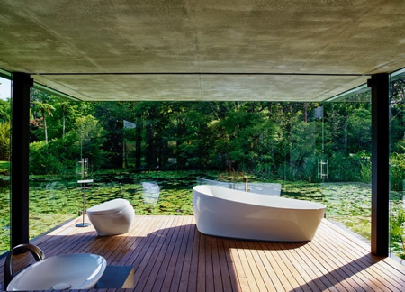 TOTO Flotation Tub and NX toilet