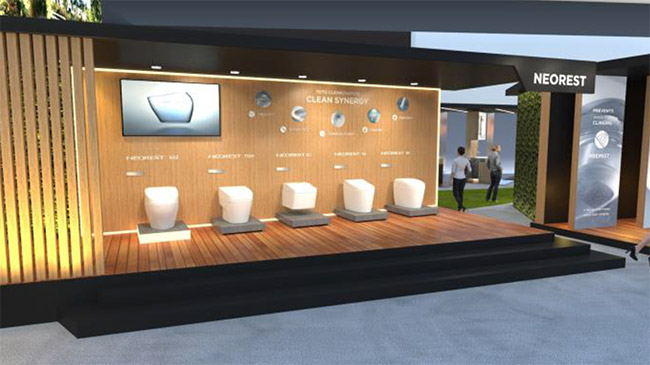TOTO's Virtual Booth