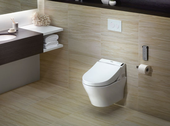 toto introduces the mh connect wall mount toilet and. Black Bedroom Furniture Sets. Home Design Ideas