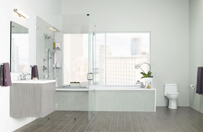 La salle de bains bien am nag e for Toto salle de bain