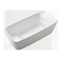 Flotation Freestanding Square Tub
